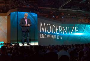 "Joe Tuccis Vermächtnis:""Modernize!"" - EMC-CEO Joe Tucci verabschiedet sich."