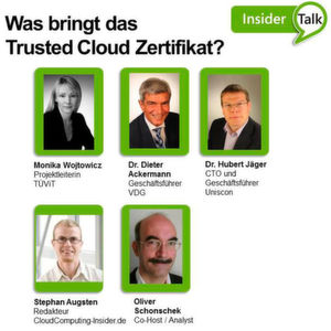 Was bringt das Trusted-Cloud-Zertifikat?