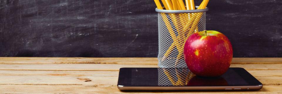 Die digitale Schule steckt in Deutschland noch in den Kinderschuhen.