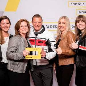 »bike und business« erneut Fachmedium des Jahres 2016