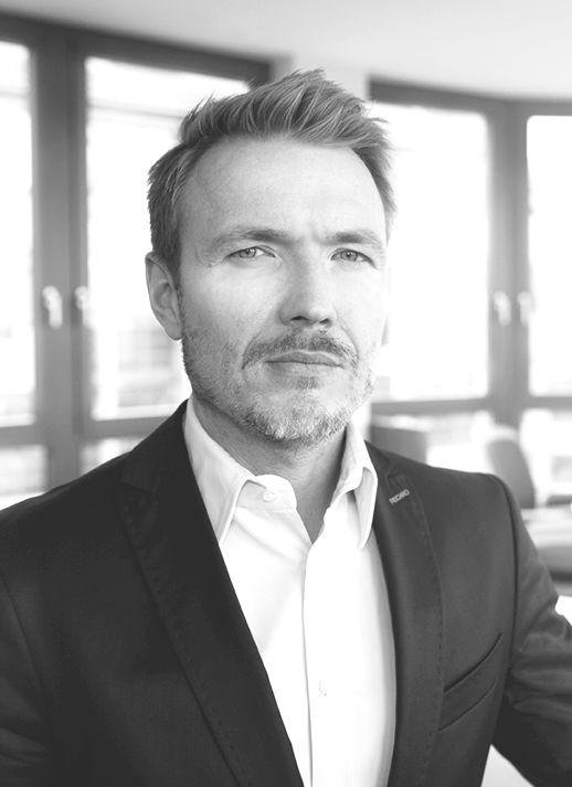 Patrick Gevelmann ist verantwortlich für die zentrale Markenführung und Markensteuerung und direkter Ansprech- und Sparringspartner für