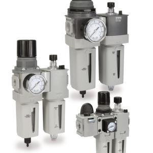 Luftaufbereitungssystemen bietet auch bei wenig Platz hohe Durchflussraten