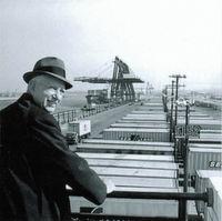 Malcom McLean gilt als der Vater der Containerisierung.