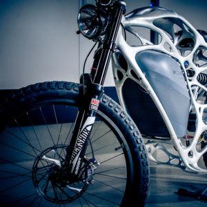 Erstes Elektromotorrad aus dem 3D-Drucker