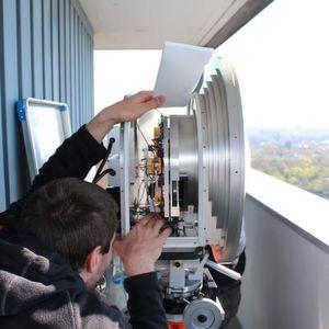 Multi-Gigabit-Funk über größte Distanzen