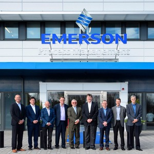 Emersons Radar-Füllstandmesstechnik hat neue globale Zentrale