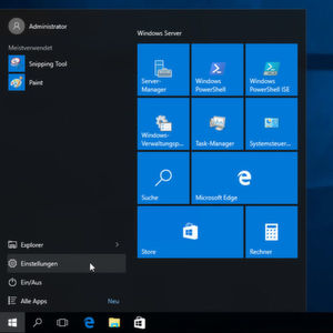Windows Server 2016 TP 5 im Überblick