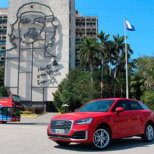 Audi präsentiert Q2 in Havanna