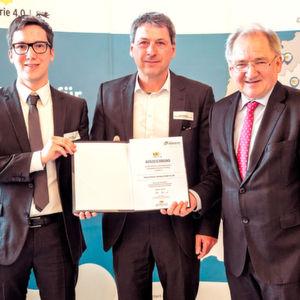Allianz Industrie 4.0 zeichnet Softwarelösung aus