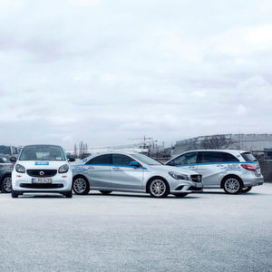Car-2-Go jetzt auch mit Mercedes-Fahrzeugen