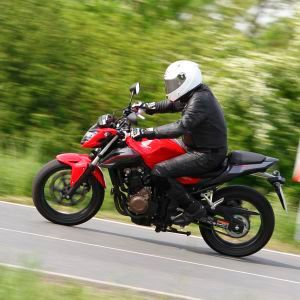 Honda: Halber Liter, volle Schüttung