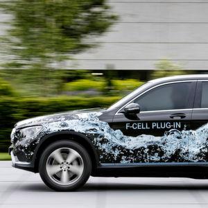 Mercedes GLC F-Cell: Plug-in-Hybrid mit Brennstoffzelle