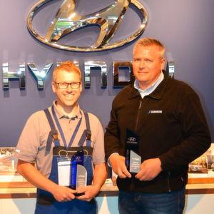 Hyundai ermittelt beste Serviceberater und Techniker