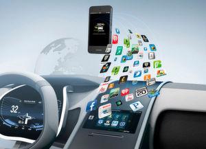Autohersteller werden zukünftig auch durch personalisierte Dienstleistungen Umsätze generieren und eine umfassende Vernetzung mit dem Internet bieten.
