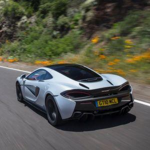 Gefahren: McLaren 570 GT