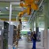 Handhabungsgerät für effizienten Einbau von Montagerahmen