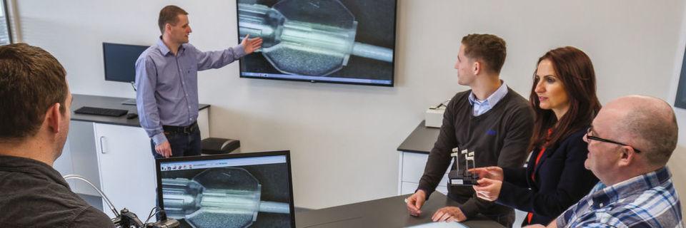 Customer Solution Center für innovatives Katheterdesign