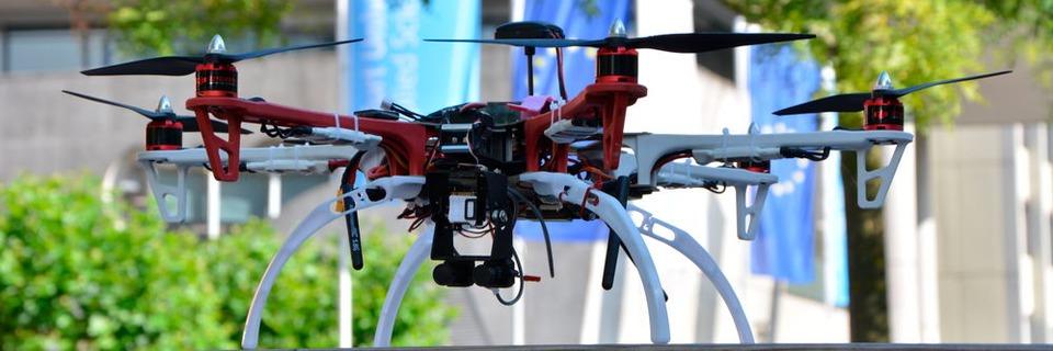 Drohne verschafft schnelleren Rundumblick bei Katastrophen