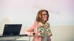 Sympathischer kann ein Markengesicht nicht sein: Sabine Herold, Inhaberin und Geschäftsführerin von DELO.