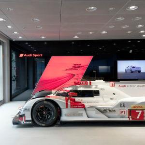 Neuer digitaler Audi-Showroom in Moskau