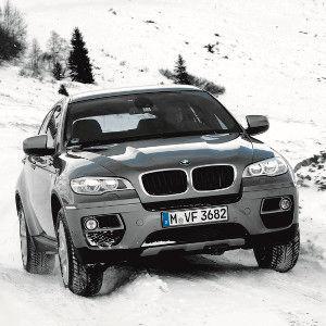 BMW X6 E71: Asphalt-Breitling
