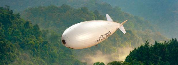 Ultrakondensatoren versorgen 60-Tonnen-Schwerlast-Luftschiff mit Strom