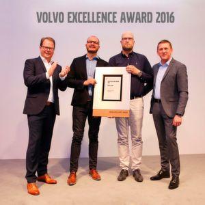 Volvo ehrt das Autohaus Kiso