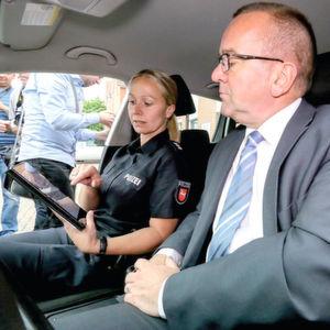 Tablets für die mobile Polizeiarbeit