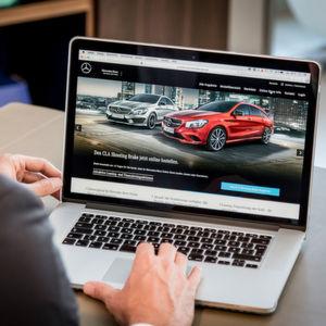 Vorkonfigurierte Fahrzeuge können bei Mercedes künftig bundesweit online bestellt werden.