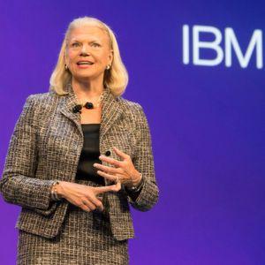 IBM macht Hoffnung auf Ende der Talfahrt