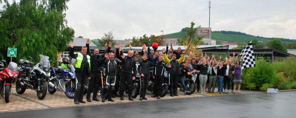 Startschuss zur Motorradtour 2016!