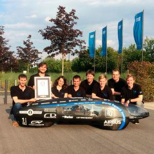 Studenten bauen sparsamstes E-Auto der Welt