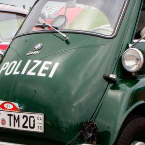 Deutschlands letzte Polizei-Isetta