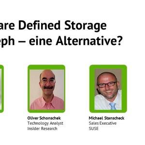 Software-defined Storage mit Ceph – eine Alternative?