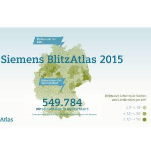 Schweinfurt ist Deutschlands Blitz-Hauptstadt 2015