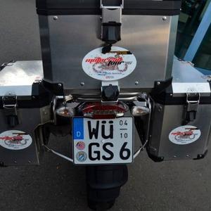Motorradtour 2016: Royal Plattfuß, königlicher Service