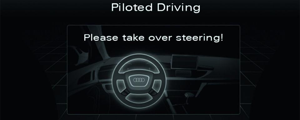 Rückholen des Fahrers beim pilotierten Fahren