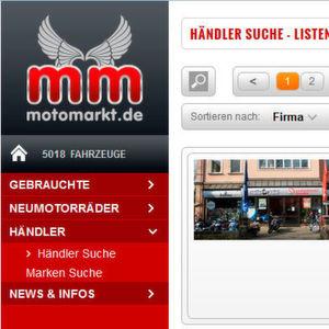 Gutes Halbjahr für Motomarkt.de