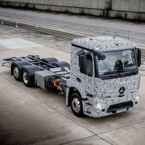 Daimler will schwere Lkw mit E-Motor in Serie bringen