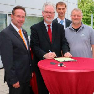 Unterstützung für Wiesbadener Ausbildung