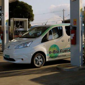Nissan E-Bio Fuel-Cell Concept: Elektriker und Alkoholiker