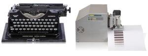 Experte: GeBE ist seit 50 Jahren in der Datenein- und -ausgabe zuhause. Angefangen hatte es mit Lernprogrammen für Schreibmaschinen. Die aktuelleste Entwicklung ist ein Testsystem für Thermopapiere.