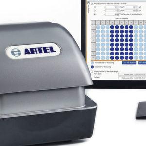 Volumenveränderungen in Mikroplatten sensitiv Überwachen