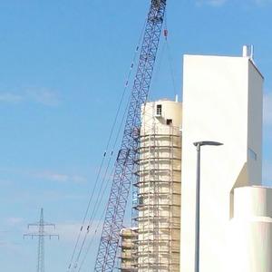 Silobau Thorwesten nimmt Quarzmehlsilo in Betrieb