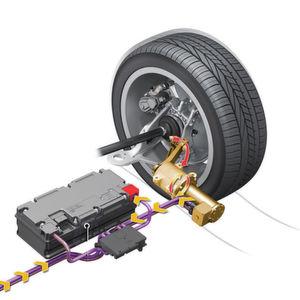 Audi-Fahrwerk produziert Antriebsenergie