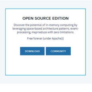 High-Performance Data Grid von Gigaspaces wird offen