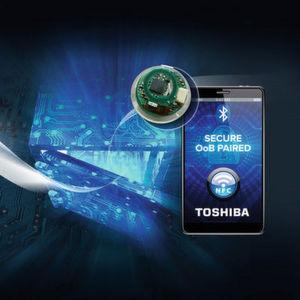 Bluetooth LE und NFC für sicheres Verbinden und einfaches Pairing