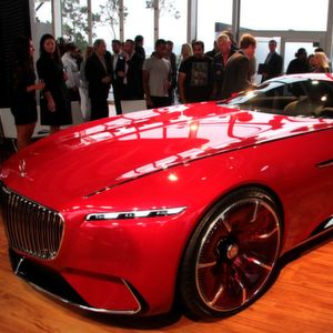 Maybach-Studie: Langer analoger Luxus