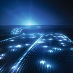 Datenautobahn in die Hybrid Cloud