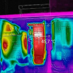 Tablet-gestützte Sichtprüfung von Feldbusinstallationen mit Wärmebild-Dokumentation